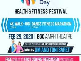 fitfil world obesity day health fitness festival pinoy fit buddy philippines image