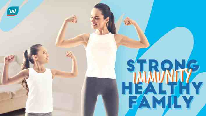 Stong Immunity Health Family with Watsons