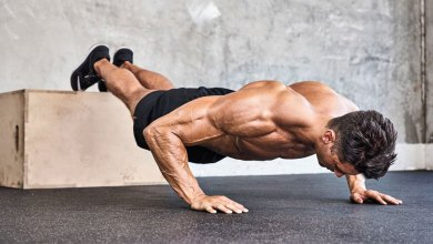 elevated pushups