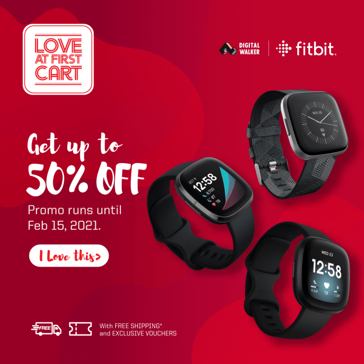fitbit 50 percent off love at first cart digital walker philippines sense versa