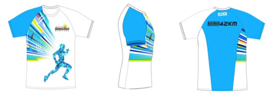 AffiniTea-Brown-Race-Marathon-42K-Finishers-Shirt
