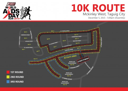 Microsoft PowerPoint - Race Route - World Aids Day