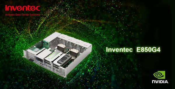 Inventec Announces its NGC-Ready Edge Server Optimized for AI Software-E850G4