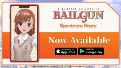 Photo of Smartphone Application Railgun: Spectrum Story Now Available