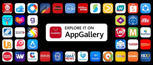 Popular Philippines apps on AppGallery