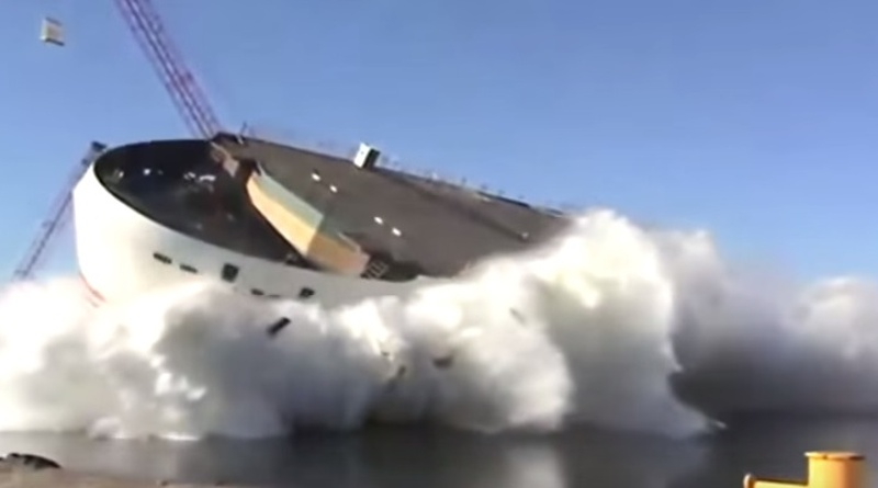 Awesome Big Ship Launches
