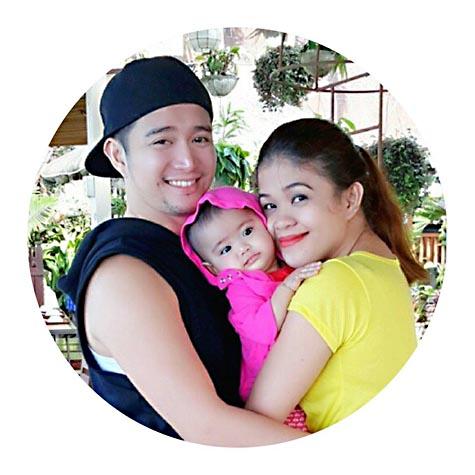 Melai and jason baby 2014