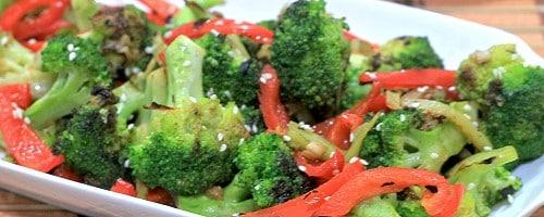 Spicy Broccoli Bell Pepper Stir-Fry Recipe