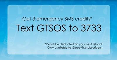 globe emergency sms