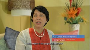Ambassador Grace Princesa encourages overseas Filipinos in UAE