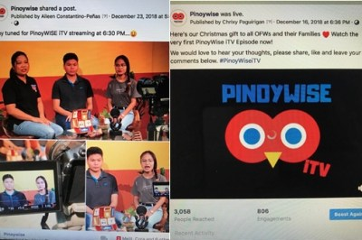 Pinoy WISE launches  Internet TV program