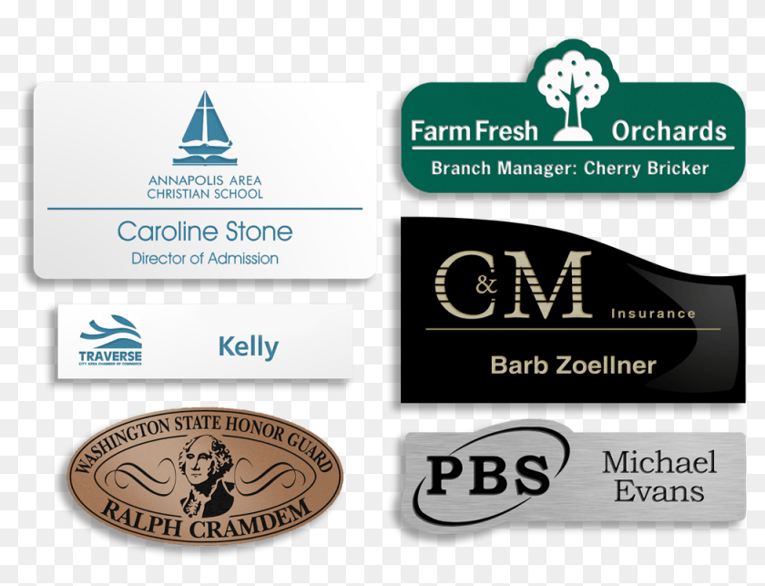 Plastic Name Tags Sign Hd Png Download 1000x718