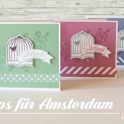 Meine Swaps für Amsterdam als Videoanleitung