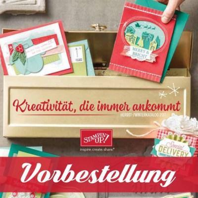 Der Herbst-Winter-Katalog macht sich auf den Weg – Jetzt vorbestellen!