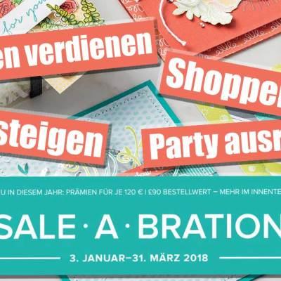 It's Sale-a-bration (mit Informationsvideo)