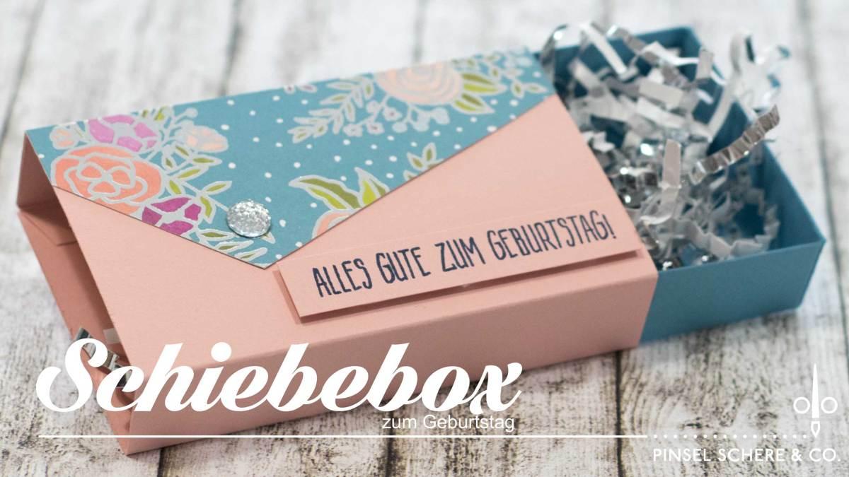 Schubladenbox zum Geburtstag