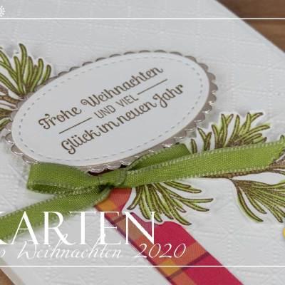 12 Karten Weihnachten #1 – Altbewährt und noch immer schön