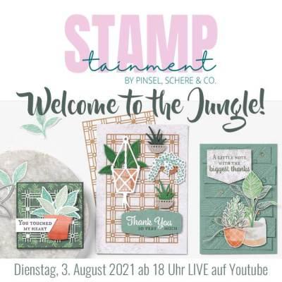 STAMPtainment im August – Jetzt GRATIS Papier-AddOn sichern!