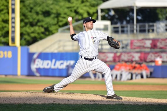 Kolton Mahoney was solid picking up where he left off in a suspended game (Robert M Pimpsner)