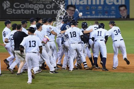 Will the Staten Island Yankees be celebrating once again? (Robert M Pimpsner)