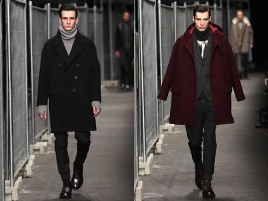 Neil Barrett Menswear Fall 2012