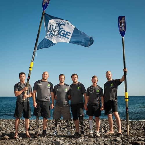 Row2Recovery is a team of six ex-servicemen