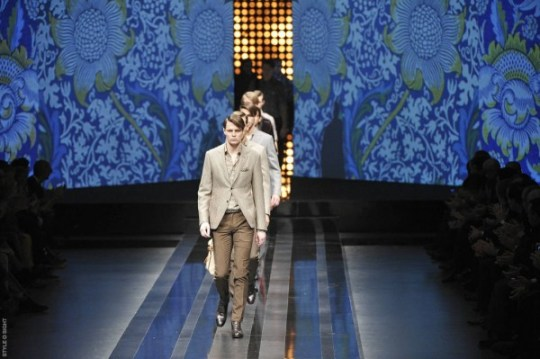 Canali Menswear Fall 2012 collection