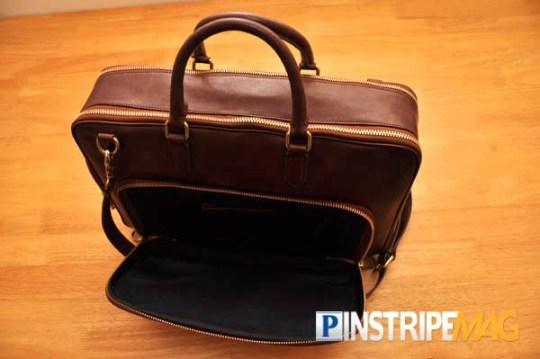 Ben Minkoff Harry Brief Genuine Leather Computer Bag