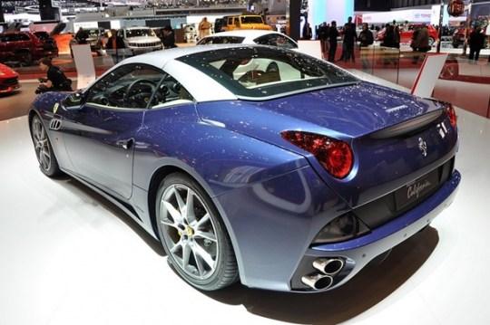 2013 Ferrari California Rear