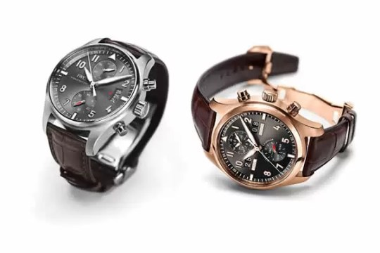 IWC, Spitfire Timpiece, IW387802 & Spitfire Perpetual Calendar Digital Date-Month - IW379103