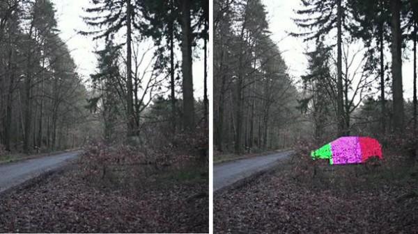 Mercedes Benz Invisibility Cloak!