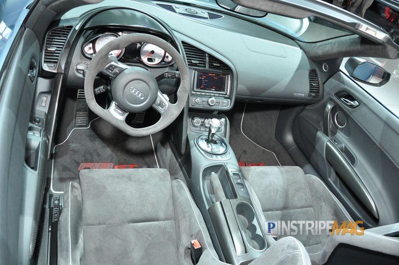 Audi R8 Interior Automatic Audi R8 GT Spyd...