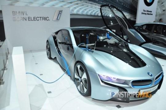 BMW i8 Concept Spyder, NY International Car Show 2012