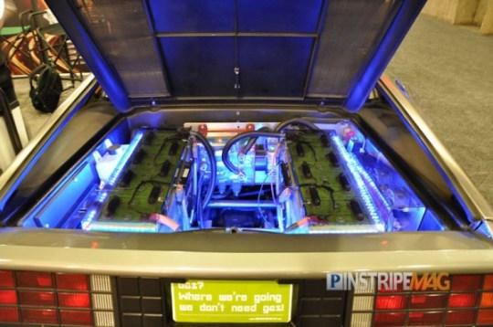 Back to the future: the NEW DeLorean DMC-EV