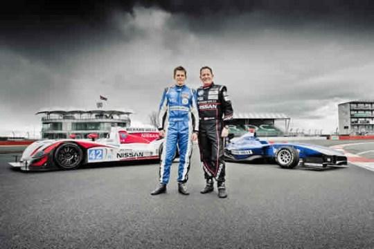 Richard Mille, Le Mans 24-hour, Alex and Martin Brundle Silverstone