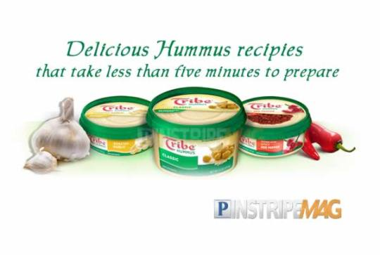 Delicious Hummus recipies that take less than five minutes to prepare