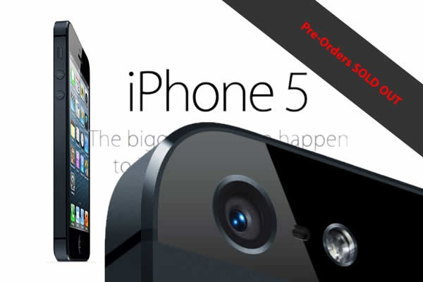 iPhone 5 sells out pre-orders in 1 hour at 2 million units