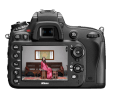 the new Nikon D600 rear display and controls