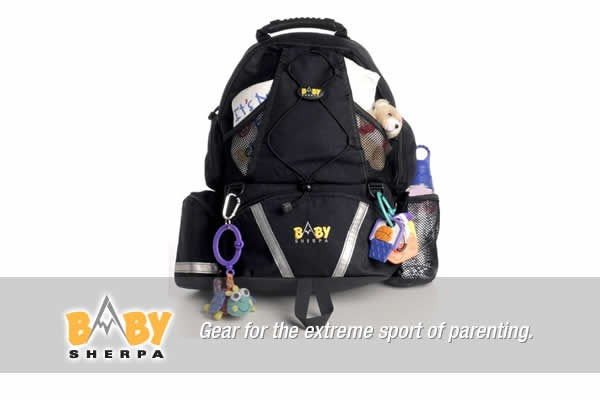 Baby Sherpa Diaper Bag Backpack for guys