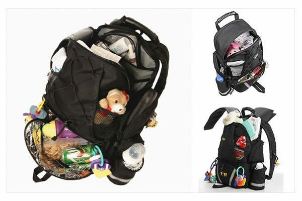 PM Holiday Gadget Gift Guide for Guys, Baby Sherpa diaper backpack