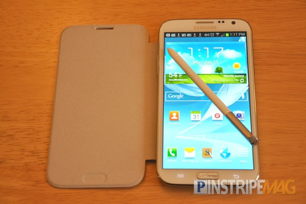 Samsung Galaxy Note 2 AMOLED screen, Gorilla Glass