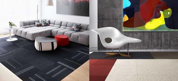 Flor modular carpeting, Office, Man Cave designs