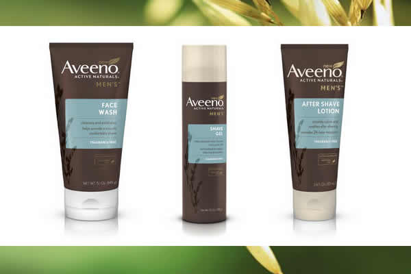 Aveeno Men's Shaving Skincare Collection