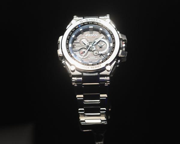 Casio G-Shock twisted metal MT-G luxury performance timepiece