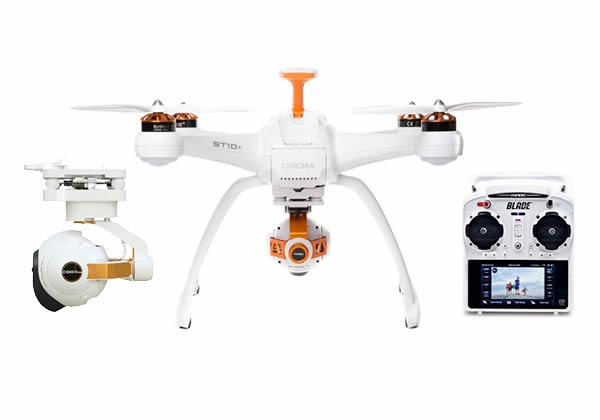 Gadget Gift Guide for Guys 15/16, Horizon Hobby Chroma Camera Drone with 4K CGO3 and ST-10+