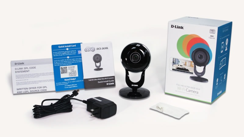 DLink 180 degree Full HD WiFi Camera