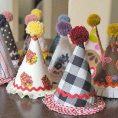 Gorros para Fiestas Imprimibles DIY