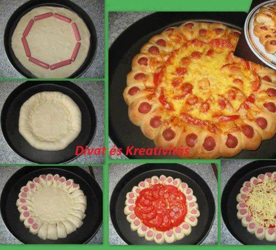 pizza-rellena-salchichas_PintandoUnaMama