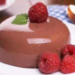 Flan de Chocolate Kinder Bueno
