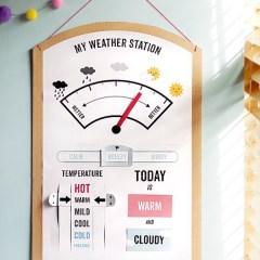 DIY Estación Meteorológica Imprimible para niños